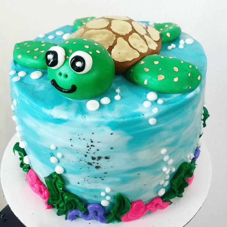 Refined Turtle Cake