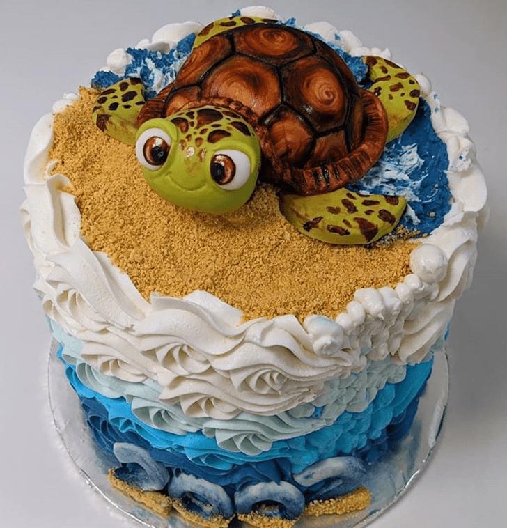 Splendid Turtle Cake