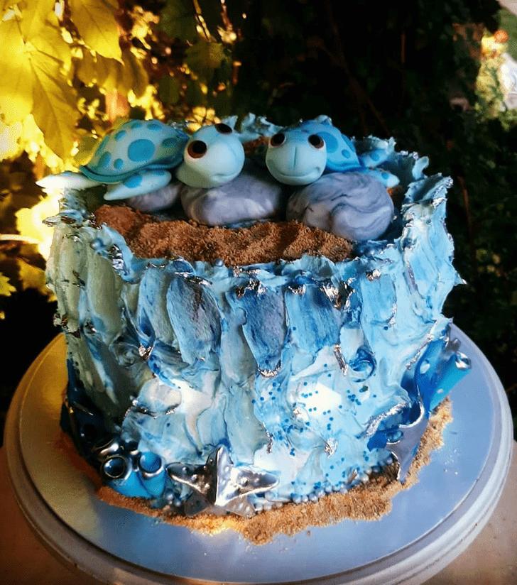 Stunning Turtle Cake