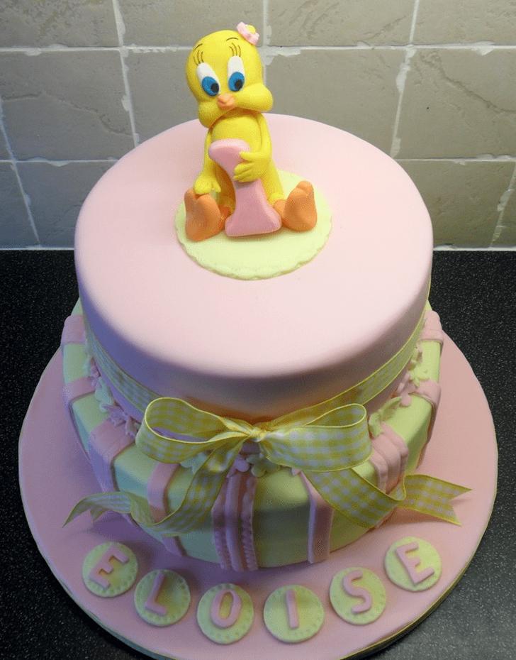 Excellent Tweety Cake