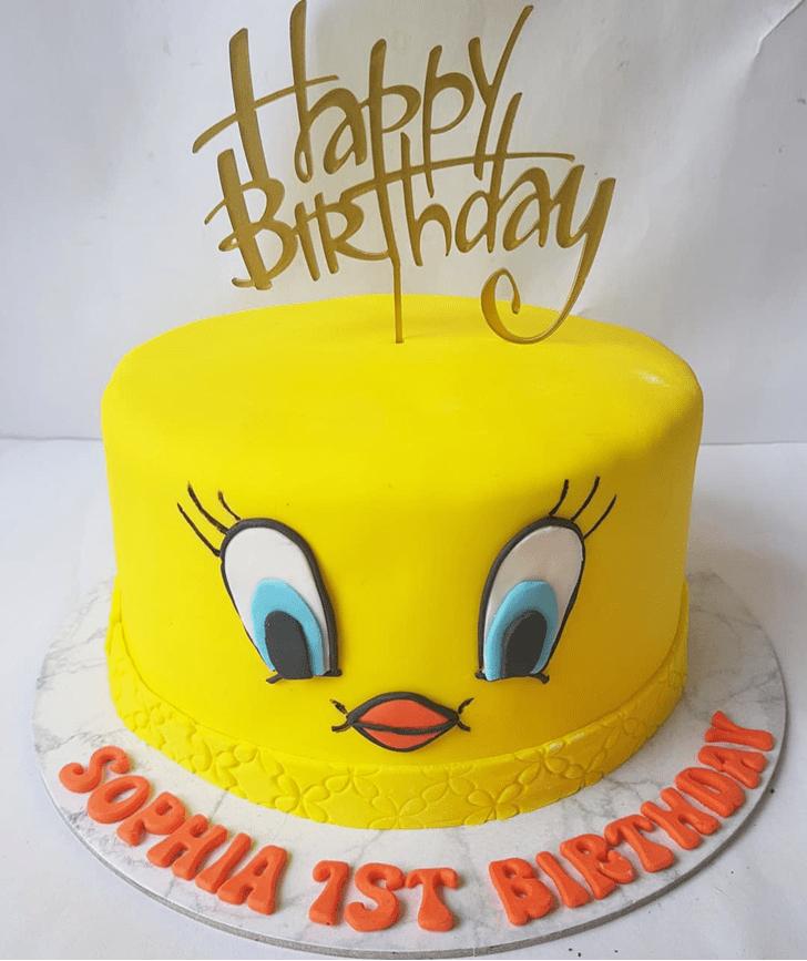 Gorgeous Tweety Cake