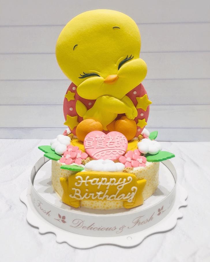 Magnificent Tweety Cake
