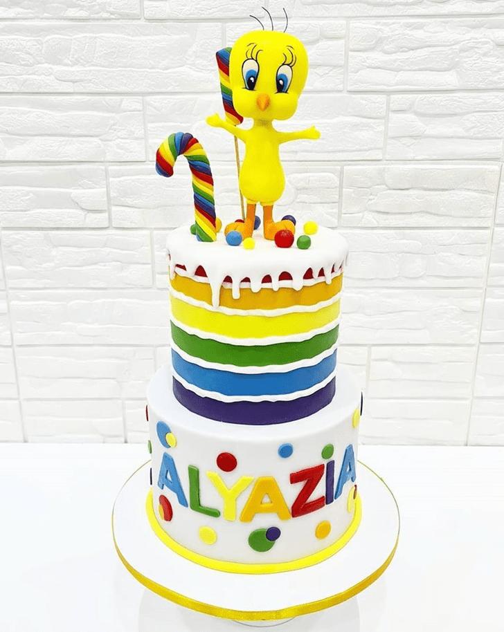 Marvelous Tweety Cake