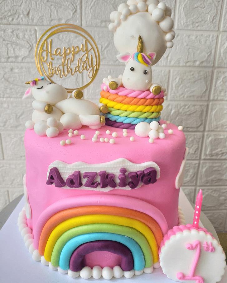 AnUnicornic Unicorn Cake