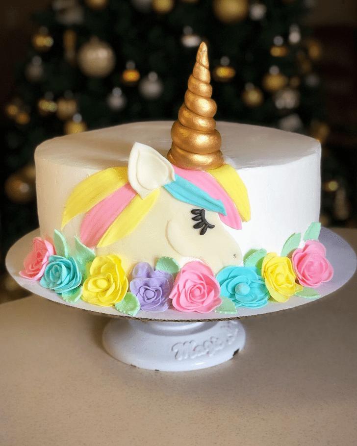 Bewitching Unicorn Cake