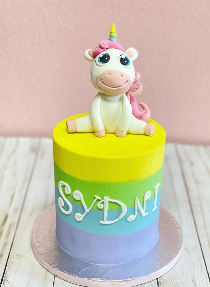 Captivating Unicorn Cake