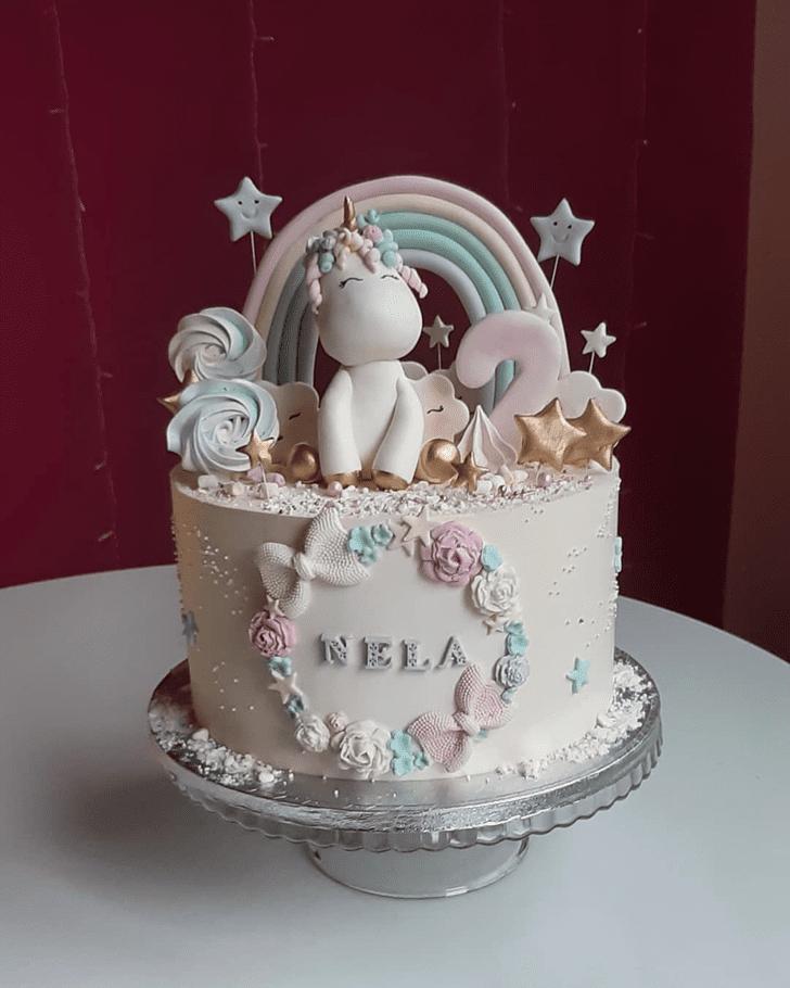 Delightful Unicorn Cake