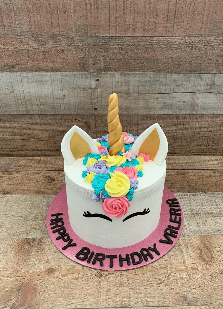 Divine Unicorn Cake