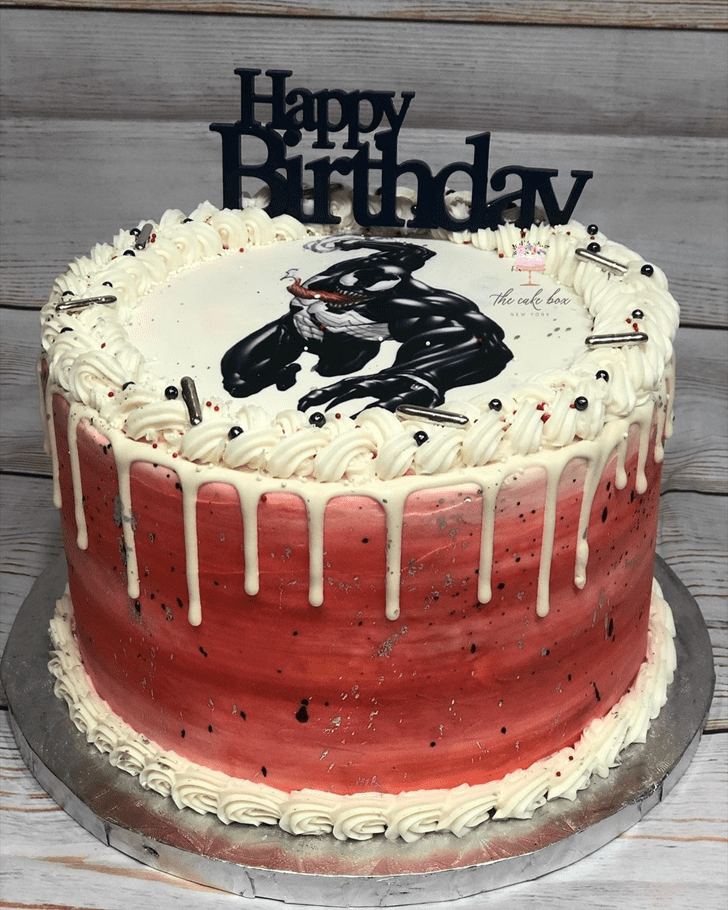 Adorable Venom Cake