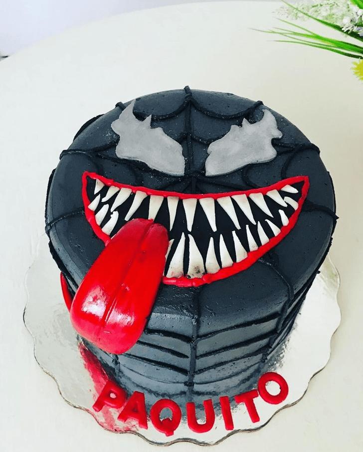Appealing Venom Cake