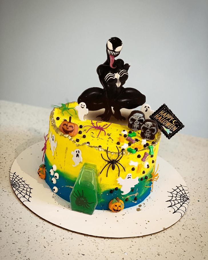 Bewitching Venom Cake