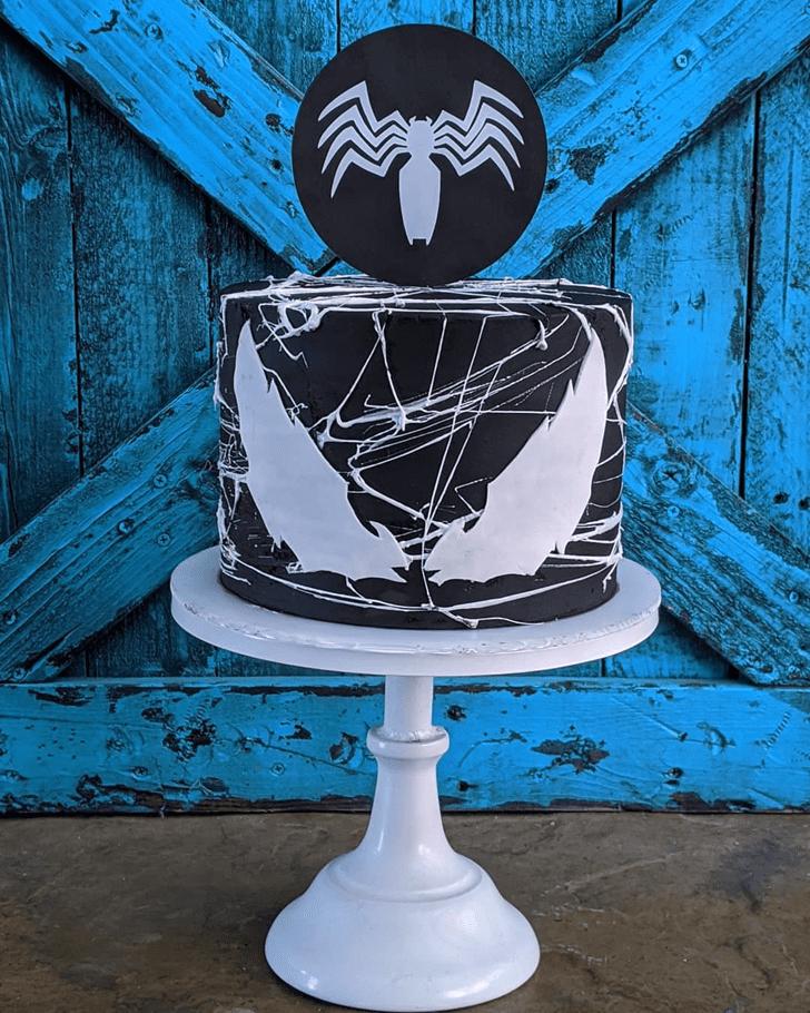 Classy Venom Cake