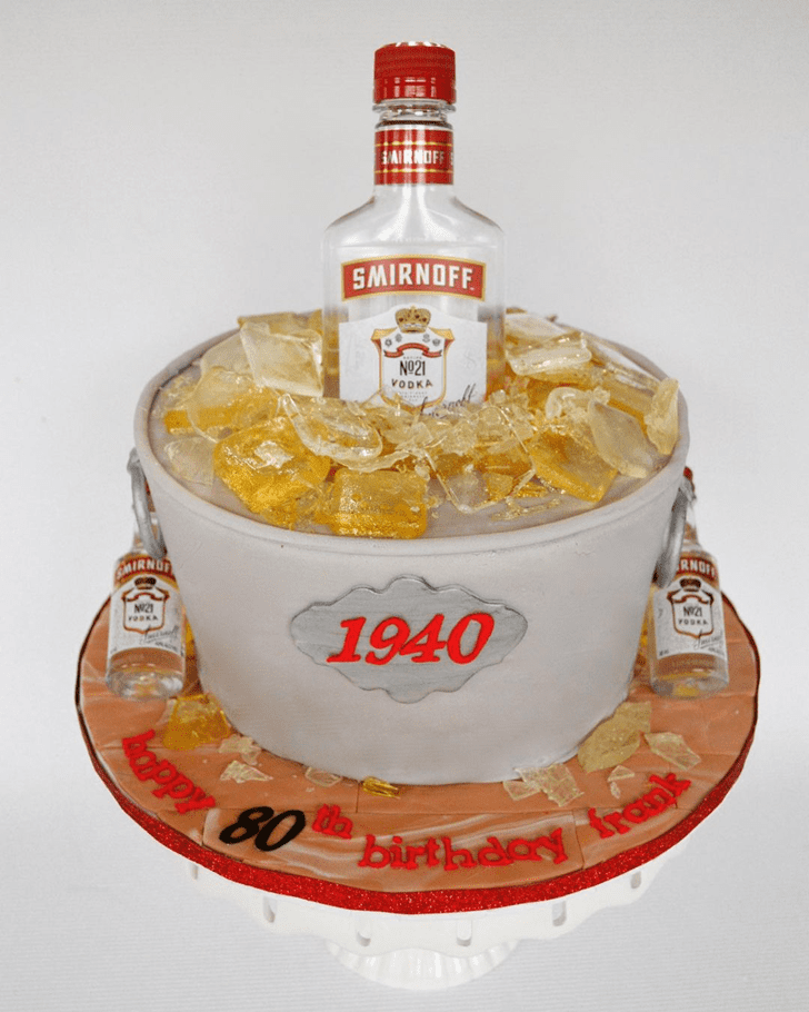 Alluring Vodka Cake