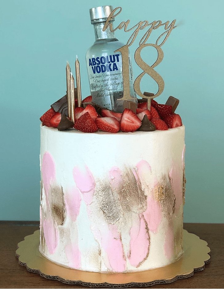 Angelic Vodka Cake