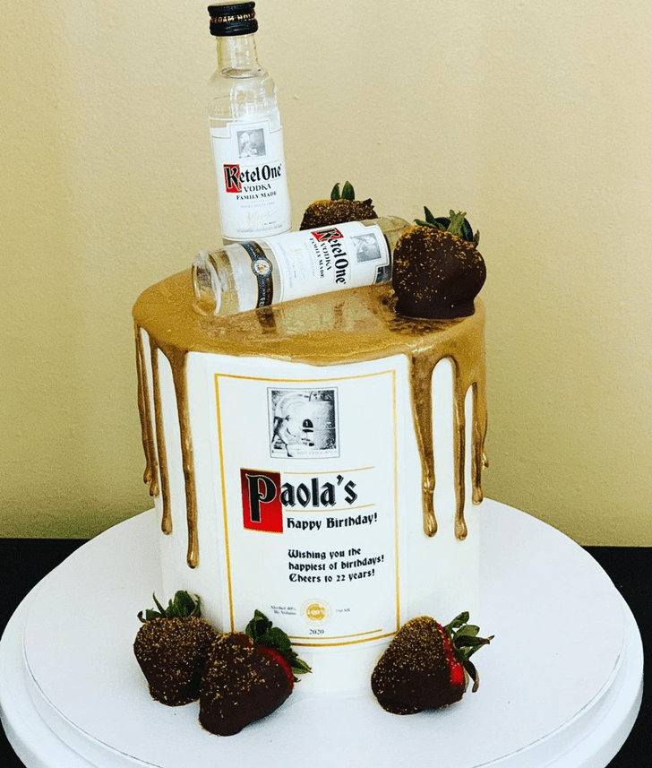 Appealing Vodka Cake