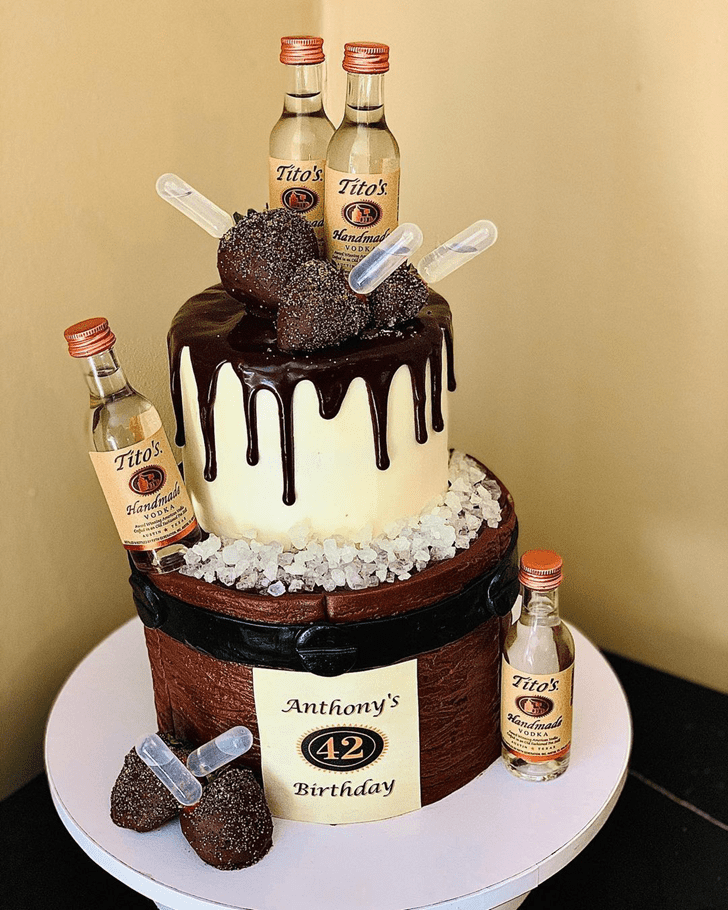 Beauteous Vodka Cake