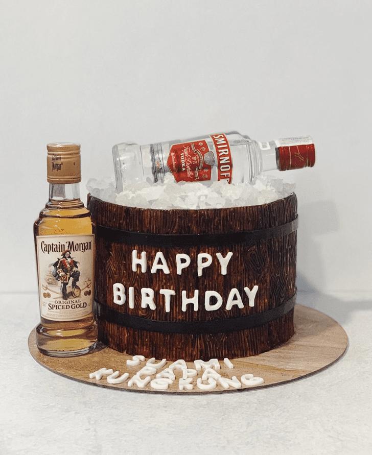 Charming Vodka Cake