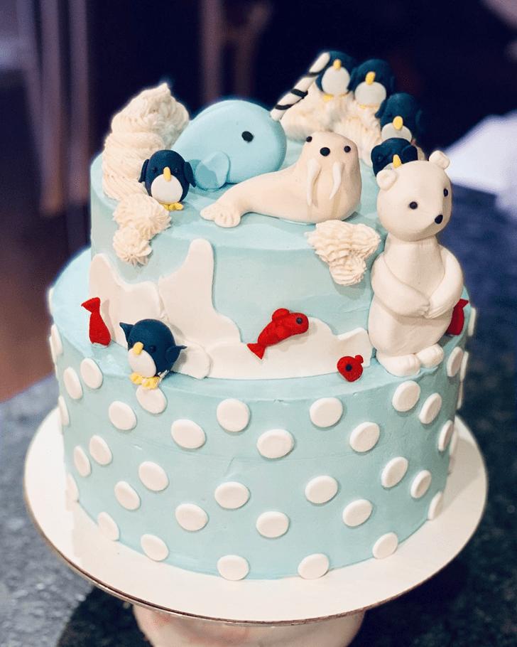 Admirable Walrus Cake Design