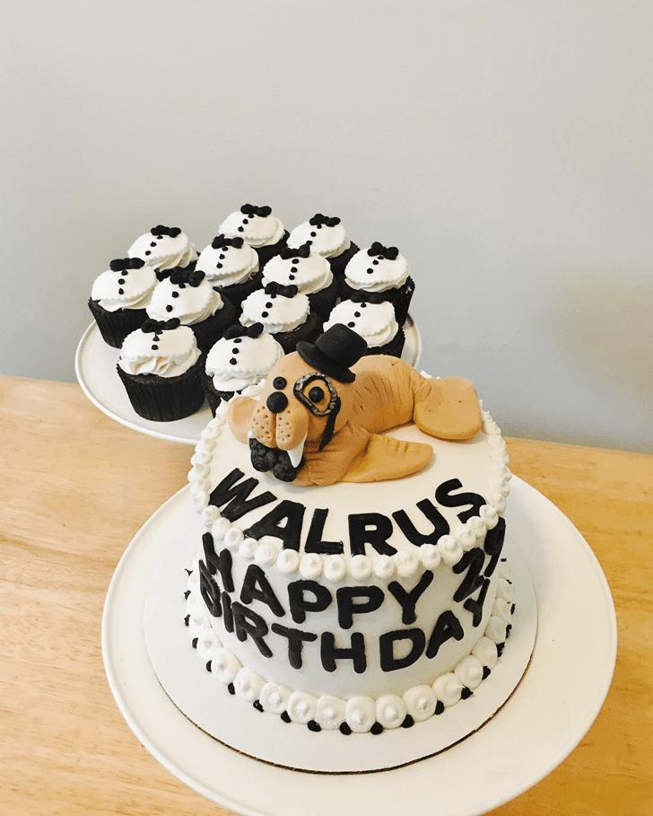 Alluring Walrus Cake