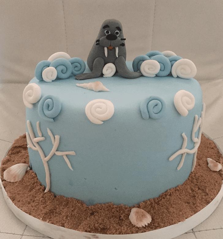 BewWalrusching Walrus Cake