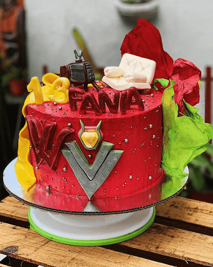 Appealing WandaVision Cake