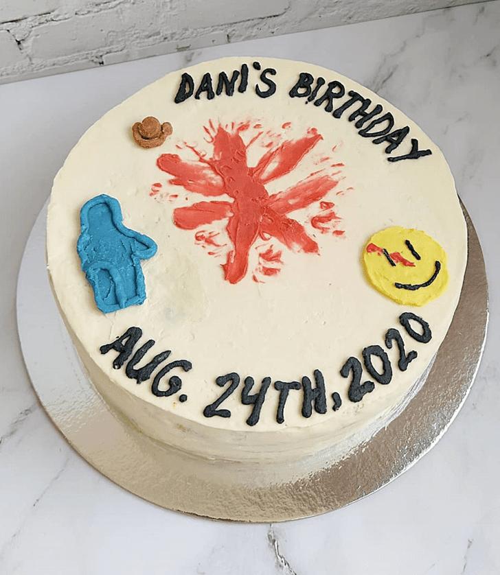 Admirable Watchmen Cake Design