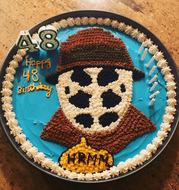 Appealing Watchmen Cake