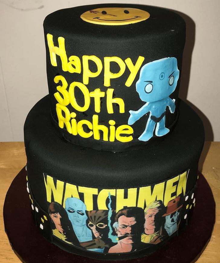 Bewitching Watchmen Cake