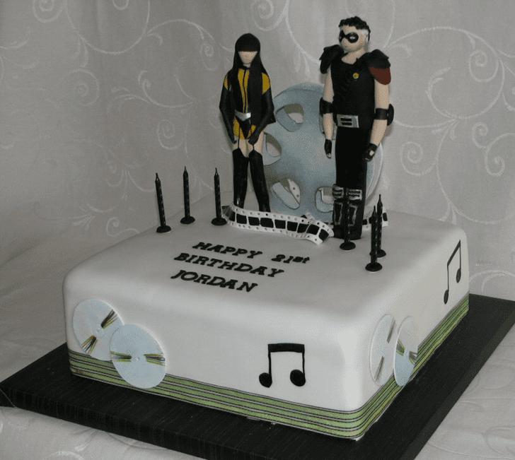 Classy Watchmen Cake