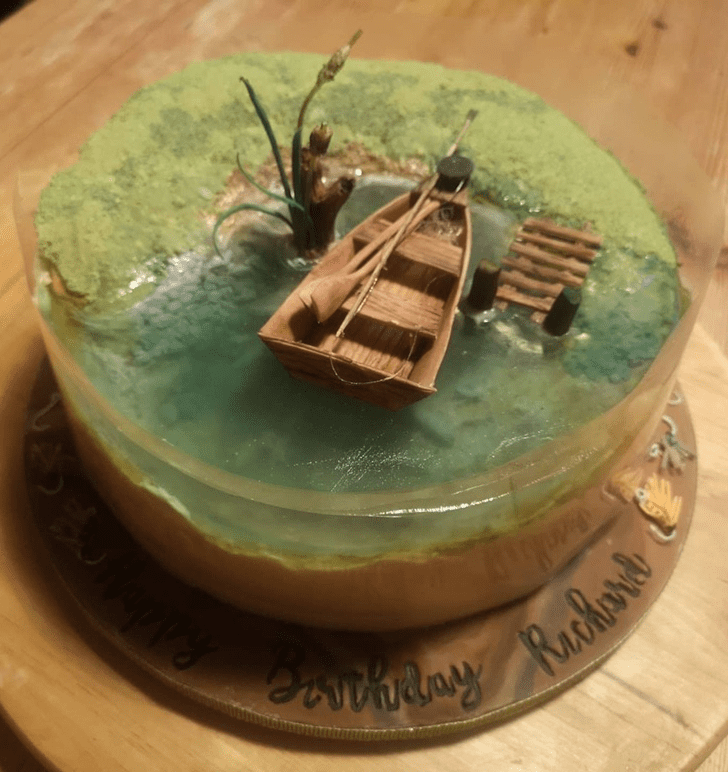 Alluring Water Cake