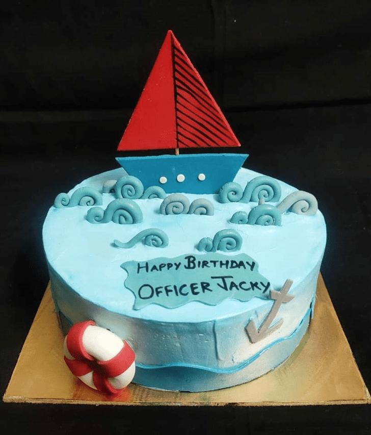 Beauteous Water Cake