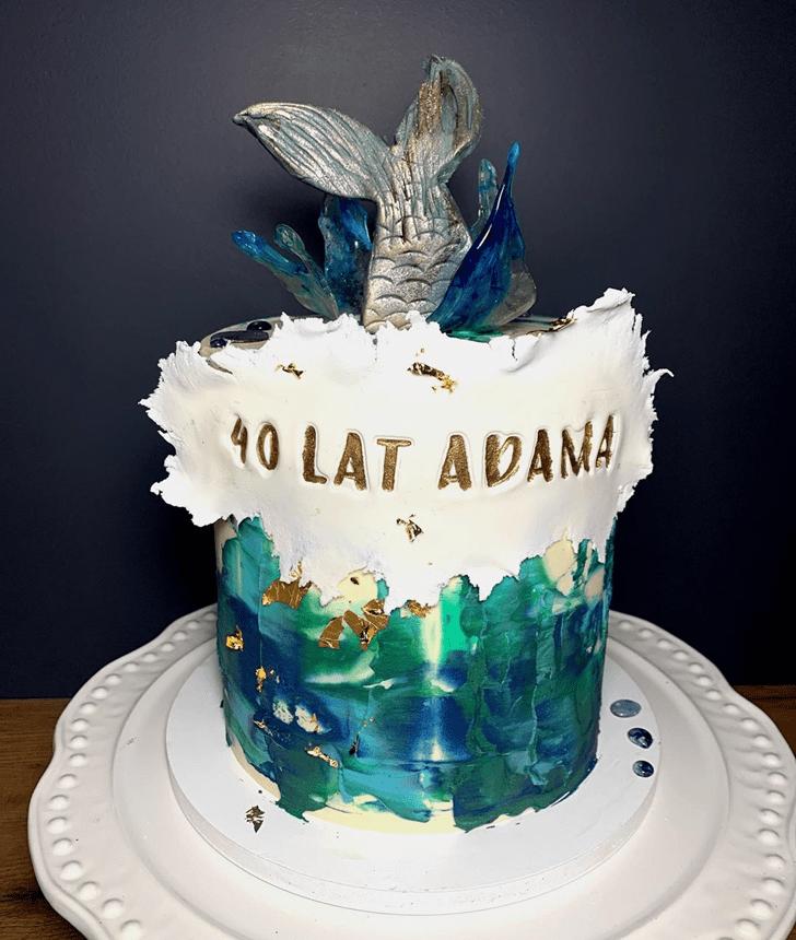 Cute Water Cake