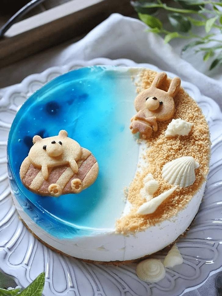 Delightful Water Cake