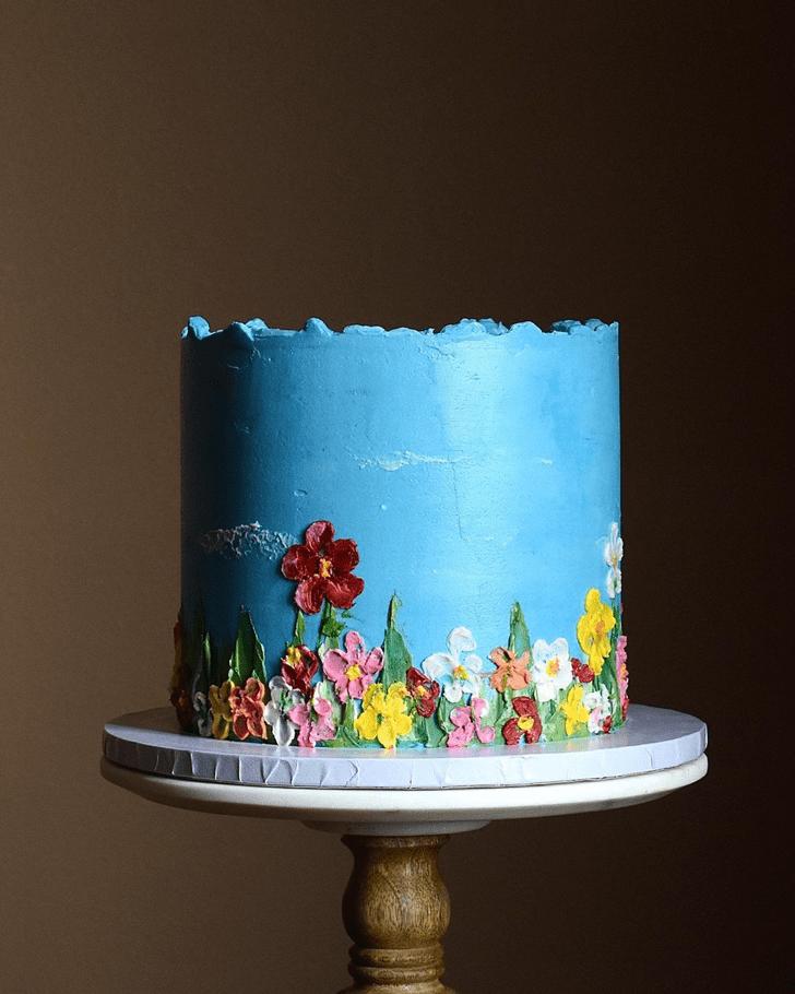 Gorgeous Water Cake
