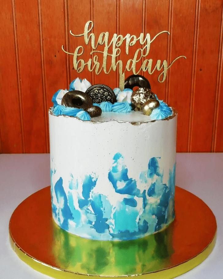 Mesmeric Water Cake