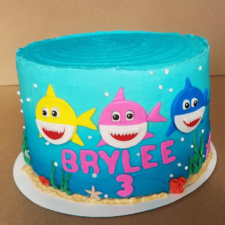Stunning Water Cake