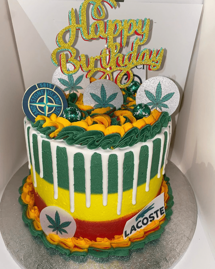 Adorable Weed Cake