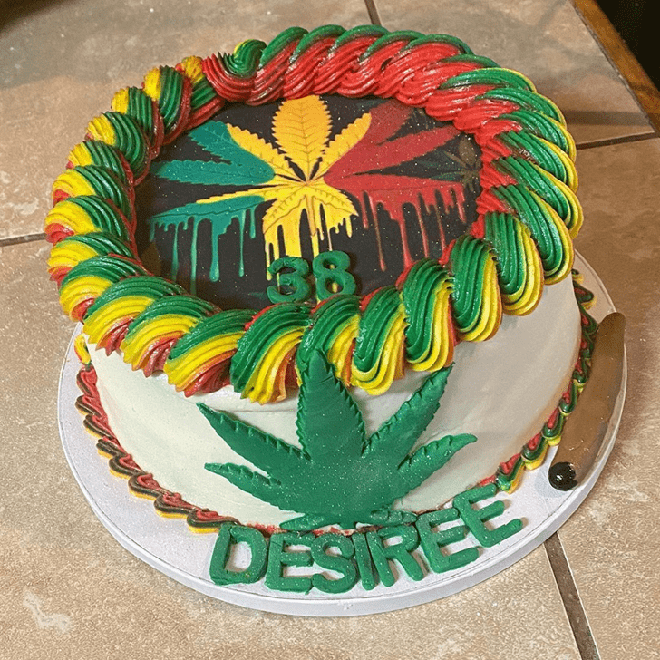Alluring Weed Cake