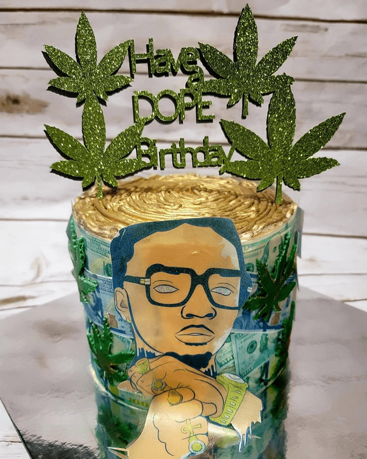 Appealing Weed Cake