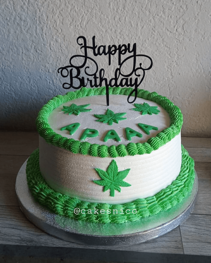 Classy Weed Cake