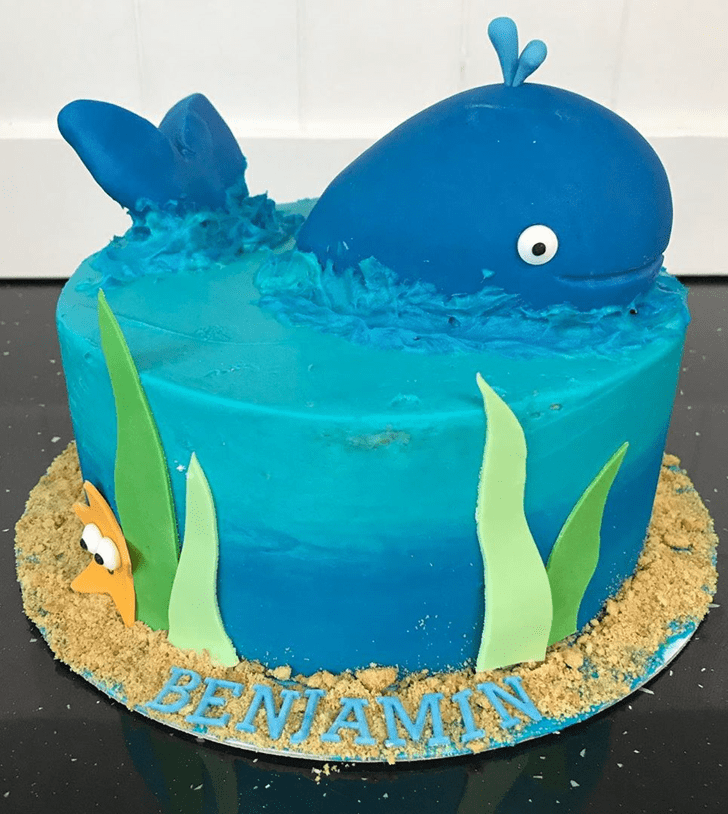 Excellent Whale Cake