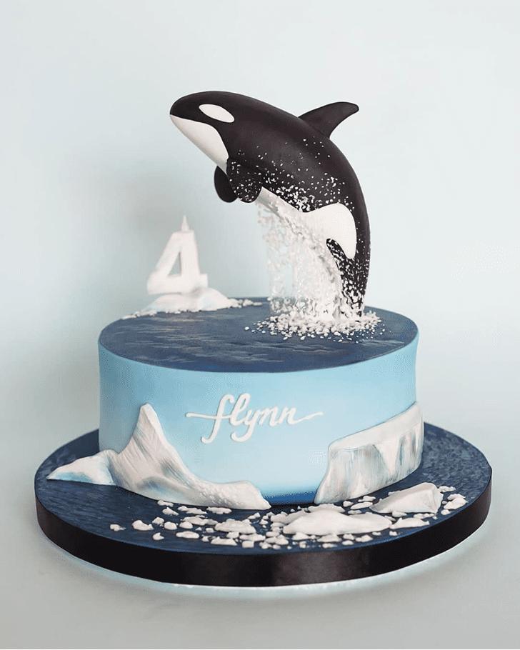 Fair Whale Cake