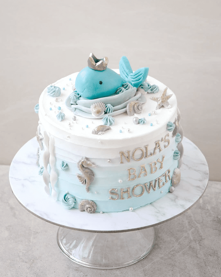 Grand Whale Cake