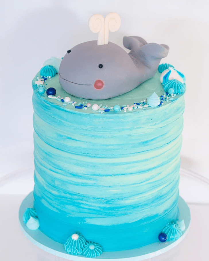 Magnificent Whale Cake