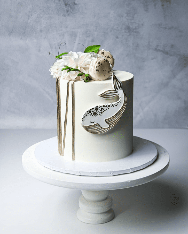 Marvelous Whale Cake
