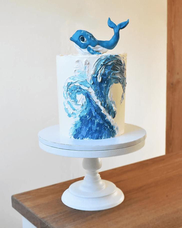 Nice Whale Cake