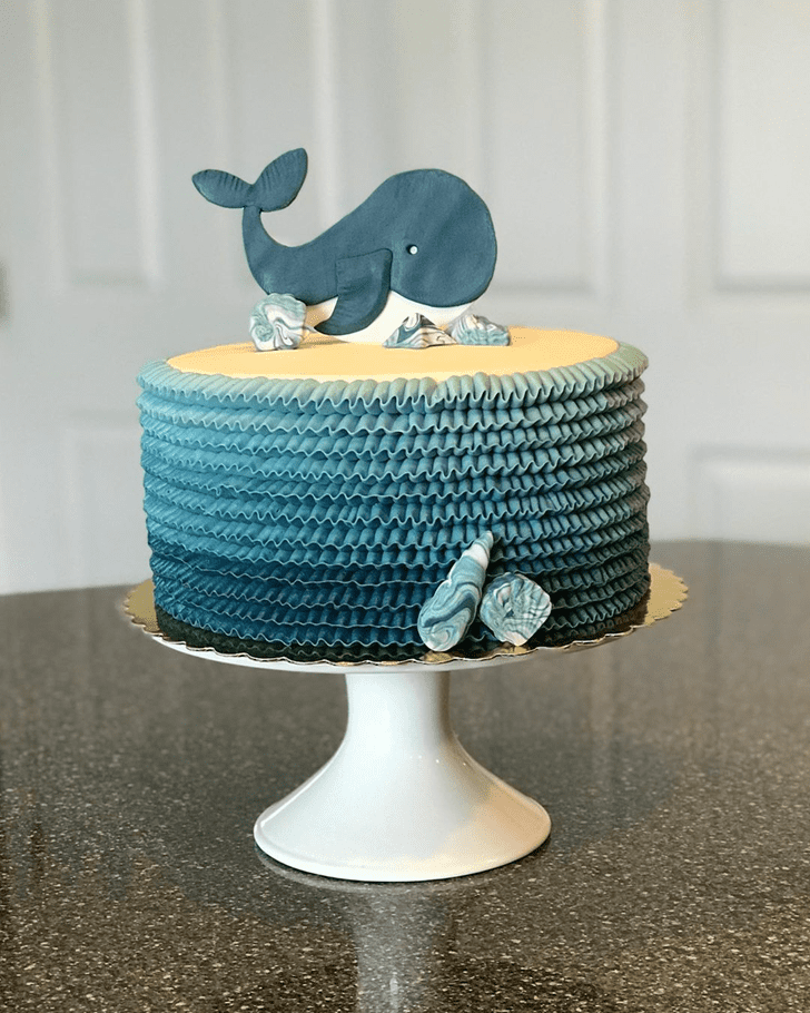 Refined Whale Cake