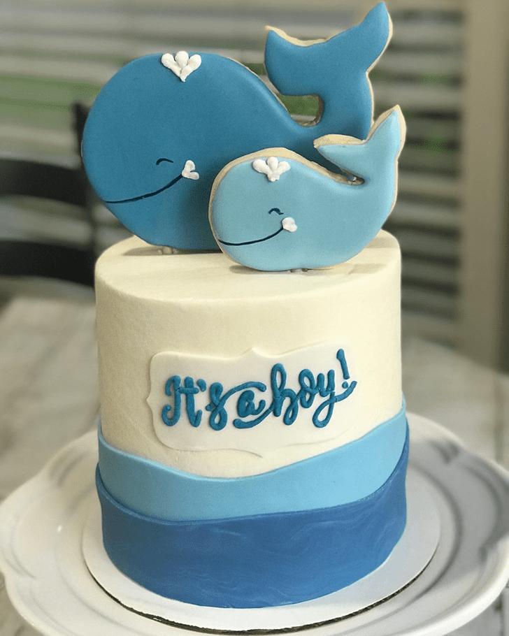Splendid Whale Cake