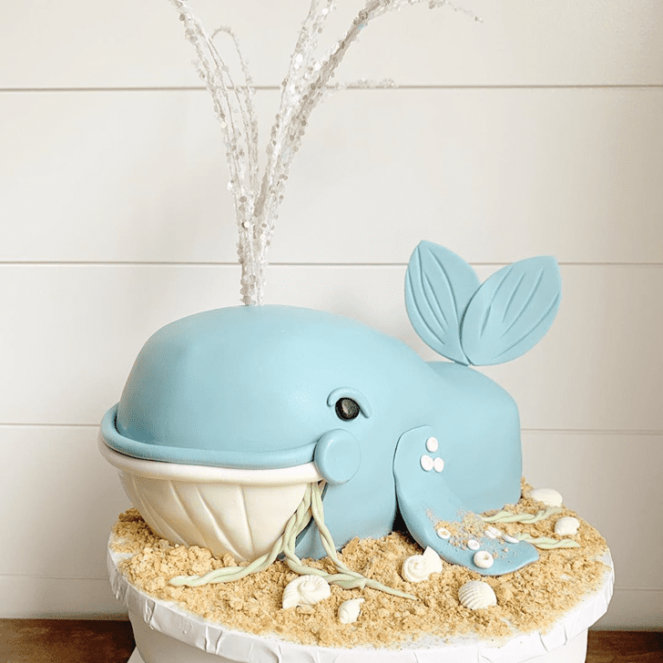 Stunning Whale Cake