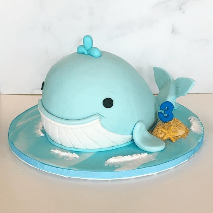 Superb Whale Cake